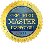 Greensboro home inspector is a certified master inspector.